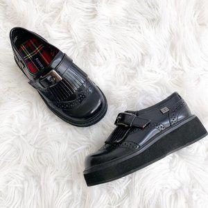 Tommy Hilfiger Vintage 90's Platform Black Shoes